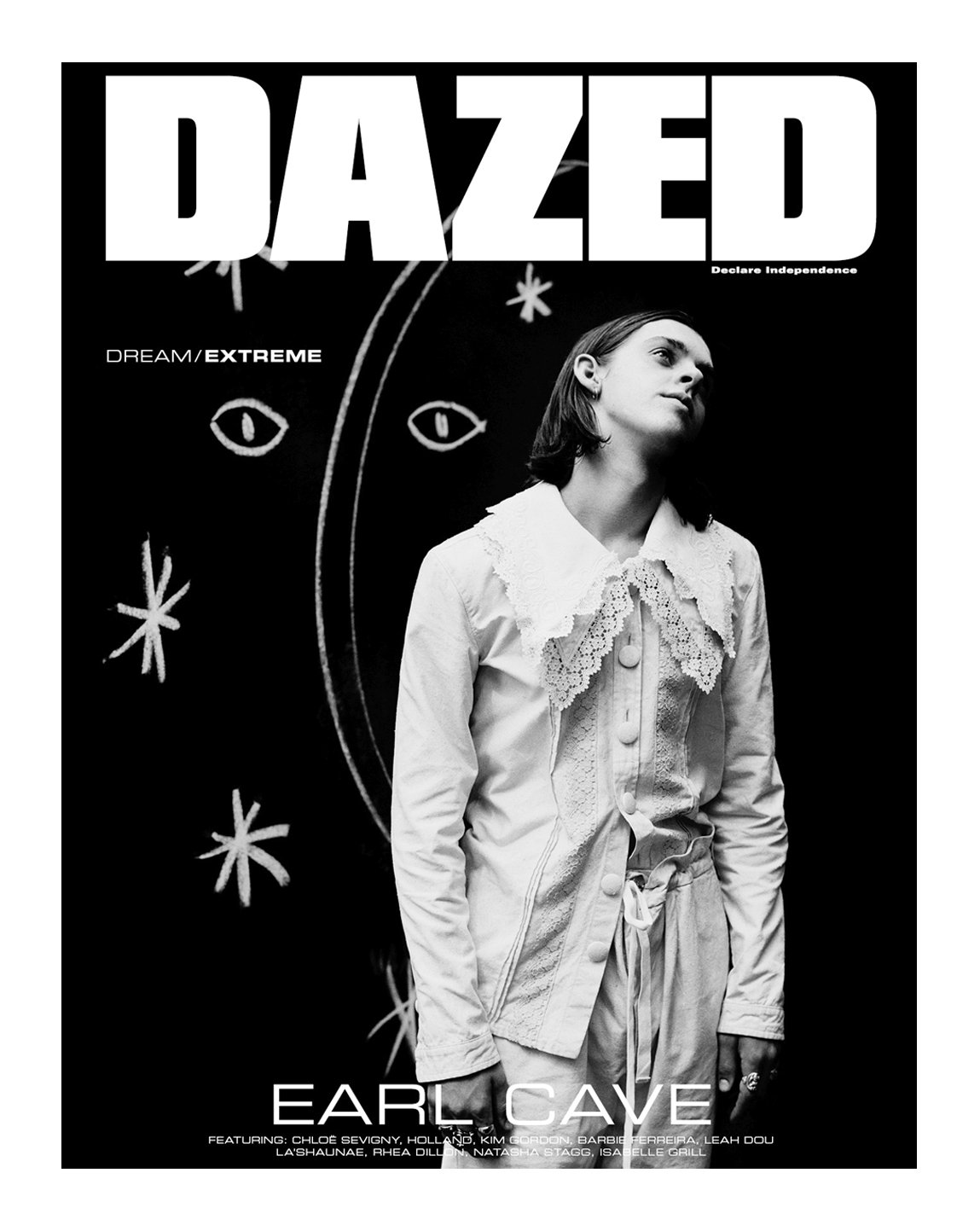 Seen on @Dazed's latest cover, #EarlCave wears #GucciFW19 by #AlessandroMichele.  #GucciEditorials  Photography by: #JackDavison Styling by: #RobbieSpencer https://t.co/Mm7tg8rdN5