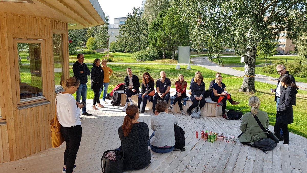 test Twitter Media - The project https://t.co/zA0sSrHd7j, a sustainable mobility project from the region of Örebro had a study visit in Umeå 11-12 September. Today we shared our knowledge of Servicehubs and the Sharing pavillion! @sharing_sweden @sharingcityumea @akademiskahus @umeauniversitet https://t.co/uDMZ7SQyQR