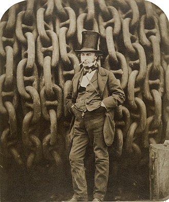 #UnDíaComoHoy en 1859 fallecía Isambard Brunel, un ingeniero británico conocido por su construcción de una red de túneles, puentes y viaductos para la compañía Great Western Railway. También se ocupó del diseño de varios barcos muy famosos a día de hoy y pioneros en la época https://t.co/iTPU6rNhLj