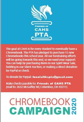 test Twitter Media - RT @focahs: @focahs is sponsoring a year-long fundraising effort to help @cahsmicpower purchase 15 more #chromebooks https://t.co/Wc7rJm3SsV