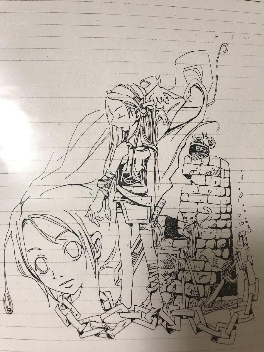test ツイッターメディア - 熊倉裕一に憧れて描いた絵 https://t.co/xMEDocSX9o