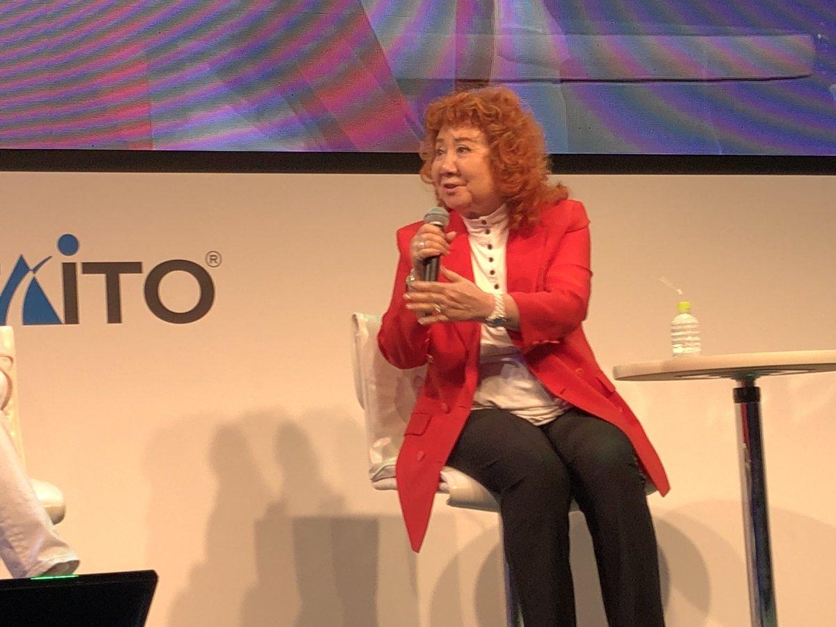 test ツイッターメディア - 「ラクガキ キングダム」のセピア役・野沢雅子さん、ビビット役・古川登志夫さんが登場!レジェンドのお二人にボイス収録のエピソードや裏話をお聞きしました! #TGS2019 #ラクキン #タイトー https://t.co/t02a8EPmnT
