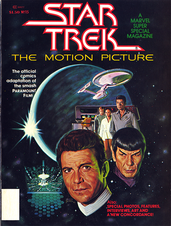 Looks like @IDWPublishing will be reissuing the classic comic adaptation of STAR TREK: THE MOTION PICTURE this December for the 40th anniversary of the first #StarTrek film https://t.co/IpjXIdgzKd