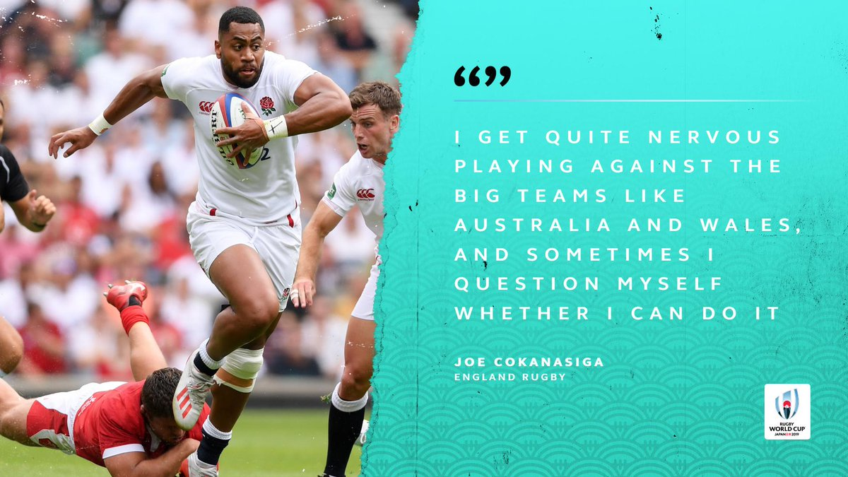 test Twitter Media - For a player who has scored five tries in six starts, @EnglandRugby's Joe Cokanasiga doesn't seem too nervous in the big games... #RWC2019 https://t.co/5ORPOYIeim