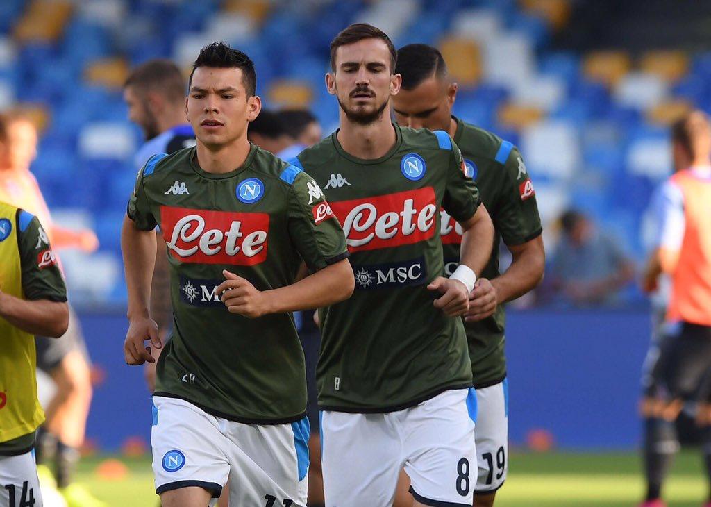 Viene el debut como TITULAR de Hirving Lozano con el Napoli. Va de inicio en el partido de Serie A contra la Sampdoria. #VengaChucky https://t.co/1g6cVOOWeO