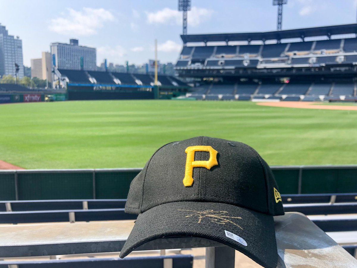 RETWEET THIS NOW for a chance to win a signed Gregory Polanco hat!