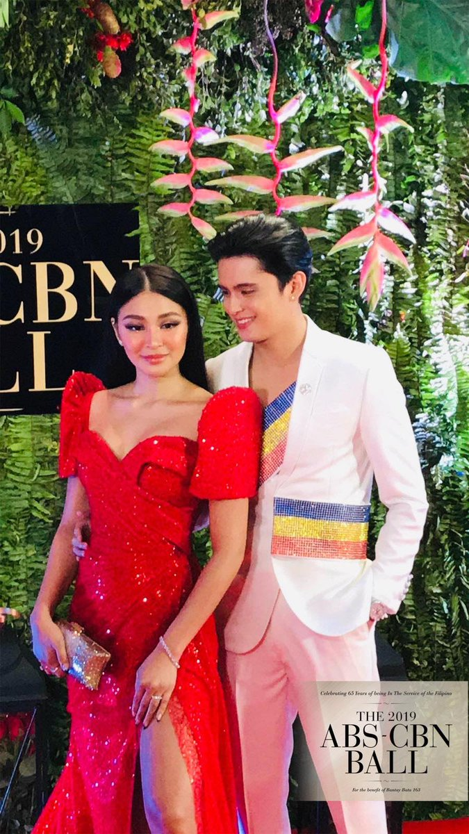 test Twitter Media - Calling all #TeamReal! Powerhouse couple James Reid and Nadine Lustre wow us with their fierce ensemble once again! Are you loving #JaDine's looks, too?  See more #ABSCBNBall2019 photos on https://t.co/rzqW49cZGJ https://t.co/oTHhwsGbTU