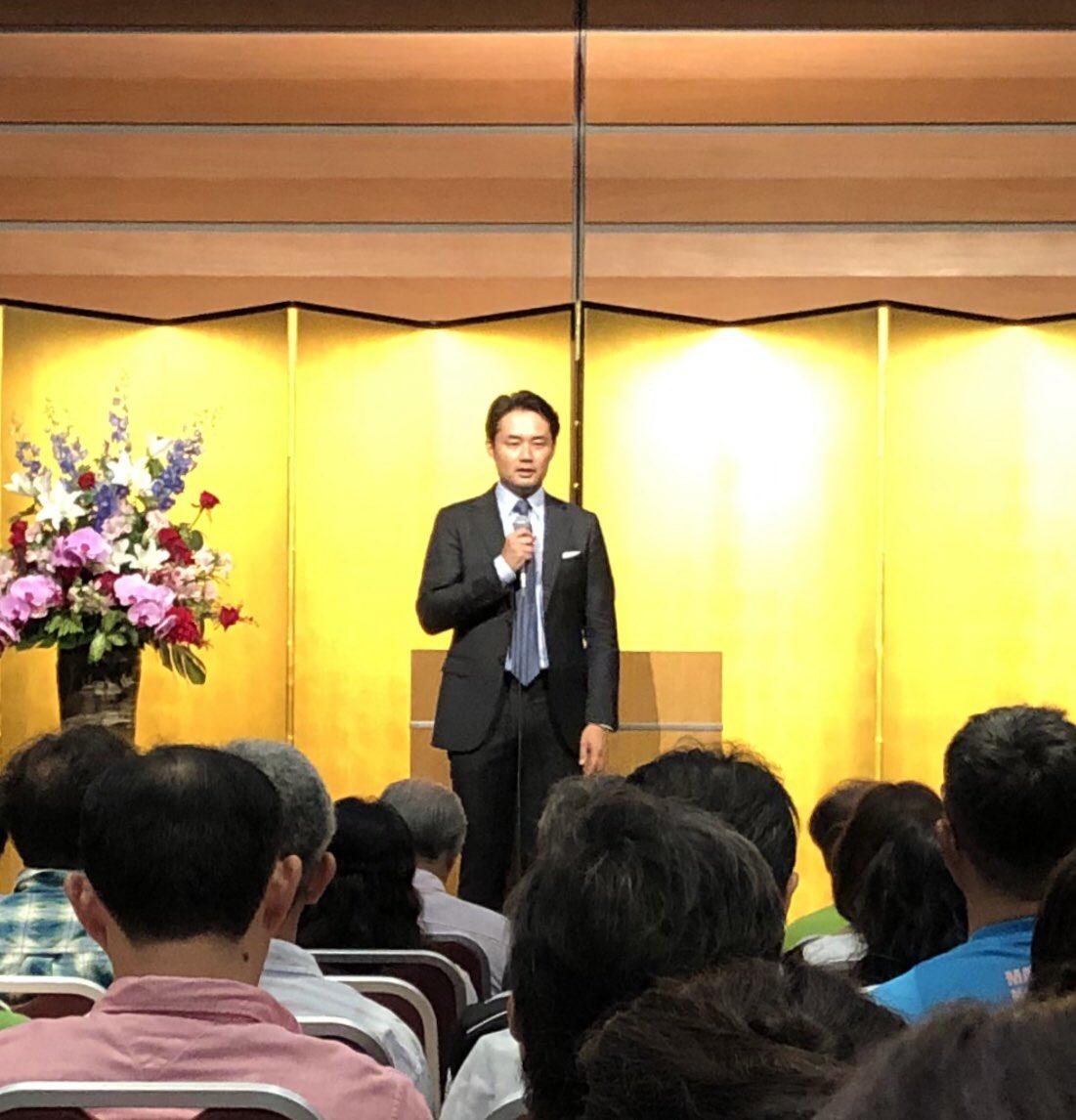 test ツイッターメディア - 昨日行ったセミナー。 講師⁉️ 杉村太蔵。 不覚にも笑ってしまった😅 座布団3枚😁  本人御希望の為UP😏 https://t.co/WbWc2sNimj