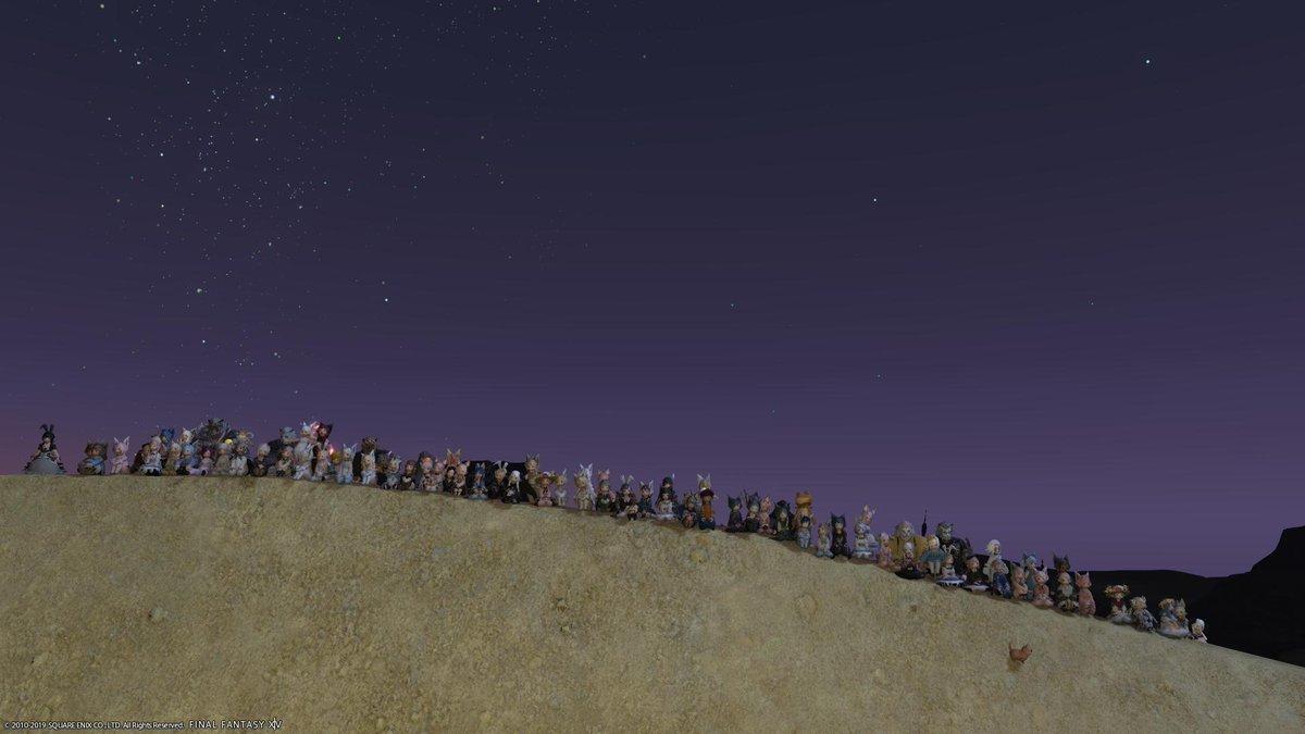 test ツイッターメディア - #ロスララもふもふ会 遊びにいってきたよ~ ①出発前の集合SS ②虹が綺麗でしたね ③滝裏。ここ入ったの初めてかもw  よく金鉱掘りにいくんだけどねw ④南ザナの砂漠。光のお父さんを思い出します #ララ祭 #ロスララ https://t.co/pOC7HvNF5P