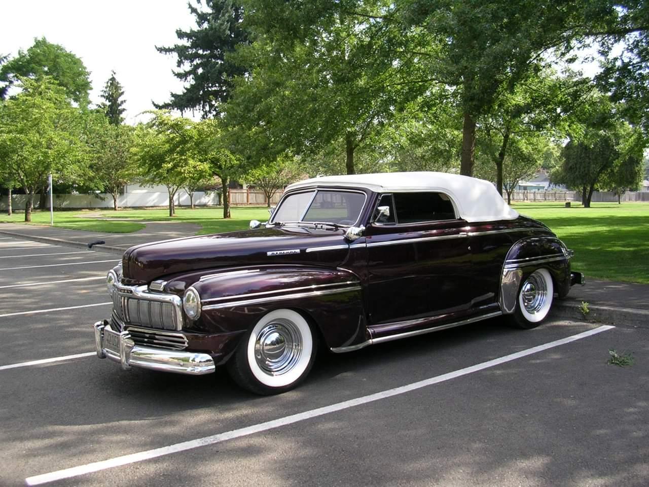 1946 Mercury Convertible https://t.co/DvAJfjwPNr