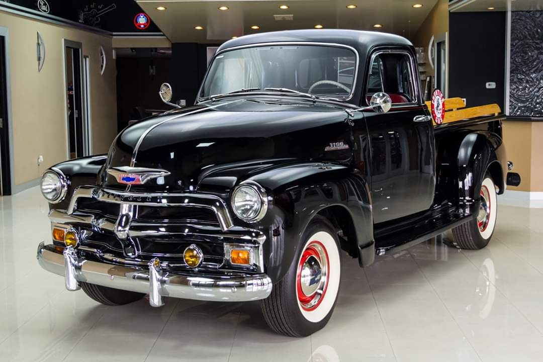 1954 Chevrolet 3100 Deluxe Pickup https://t.co/wnxxyEuukU