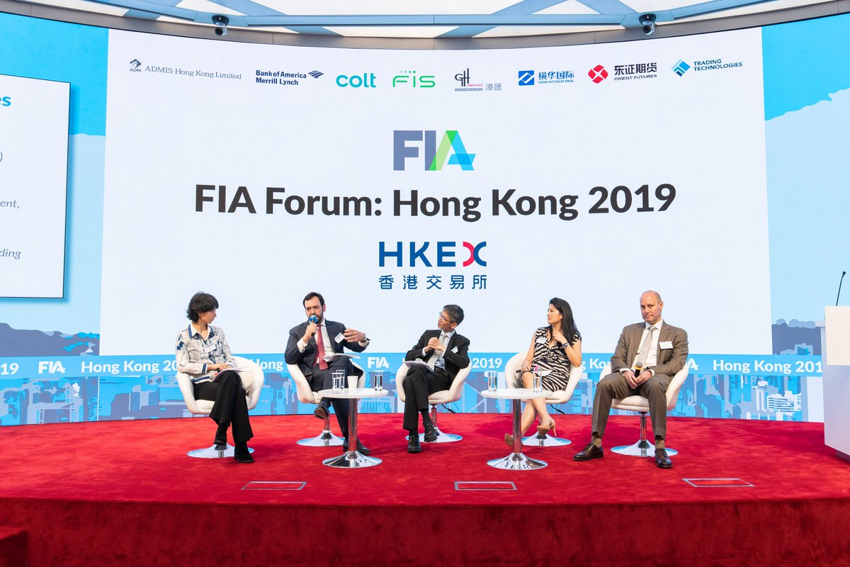 香港交易所上周出席了 #FIA 香港論壇。會上,客戶業務發展部董事總經理董凱文與業界深入探討亞洲衍生產品市場的危與機,以及亞洲區如何應對各項挑戰。 https://t.co/om7HjP7Xlb