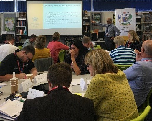 test Twitter Media - We held a Vision Summit to shape the future vision attended by community leaders, businesses, primary schools and further education partners as well as RAF Brize Norton - support from our community to offer our students opportunities not available elsewhere https://t.co/ATW2tEOApb