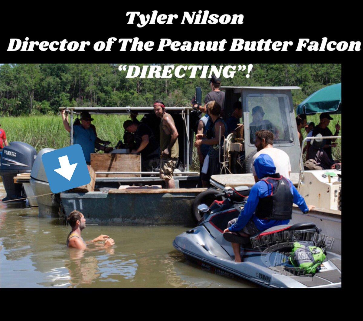 "test Twitter Media - Literally ""getting his feet wet"" in his first feature film‼️ @tpbfalcon @tylernilson @roadsidetweets #ShiaLaBeouf #DakotaJohnson #ZackGottsagen #ThePeanutButterFalcon @LuckyTreehouse @GDSFoundation https://t.co/vJPSd2Um54"
