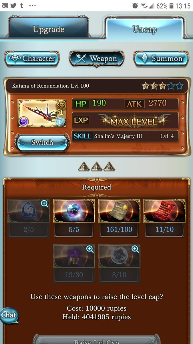 test Twitter Media - @lp1360 Nope, you just need items to uncap 4 and 5* https://t.co/2rCXQlBRDX