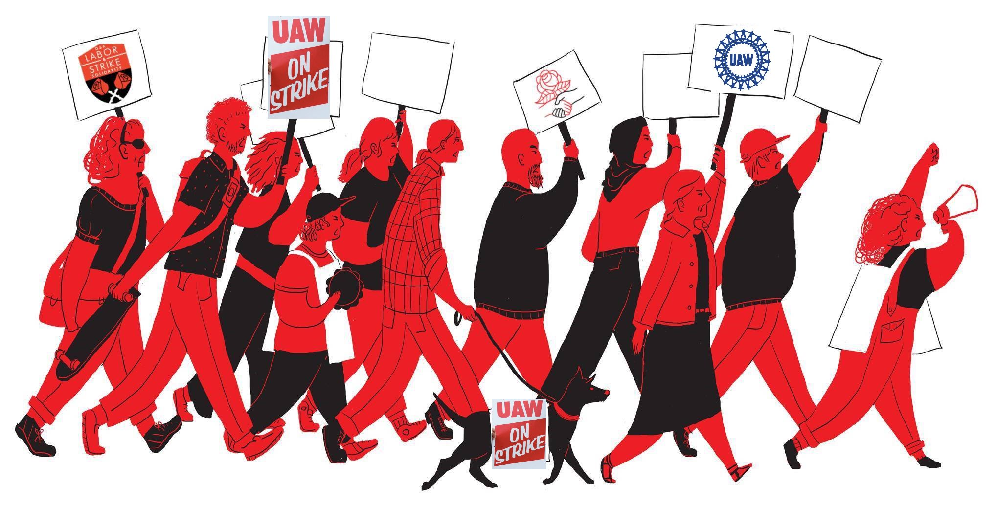 Solidarity with the striking UAW workers! https://t.co/h17w9FoiCP