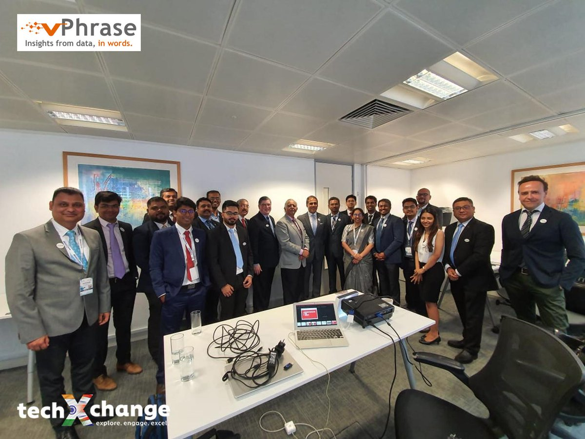 test Twitter Media - Day 1 @techXchange2019: Meeting with the Department of International Trade (DIT),  deal maker @alpeshbp shares his insights on how DIT can help startups expand in London. #vPhrase #fintech #ArtificialIntelligence https://t.co/bUxtrMhvzn