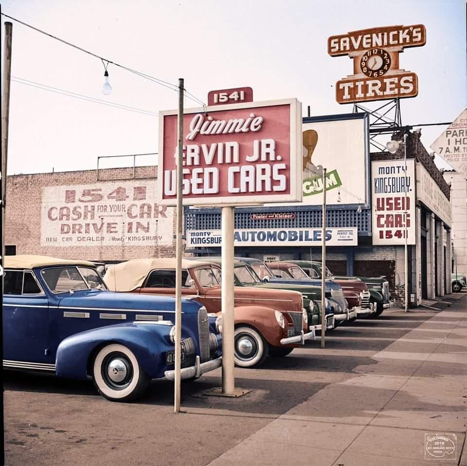 Old School Used Car Dealership https://t.co/hLBVkZx0Fu