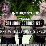 Tag team action for Colchester on October 12th!  Team Fantastic vs the superfriends.  https://t.co/9Mnb5ftA15 https://t.co/FsMZZKhRq3