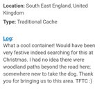 Always love getting logs like this! #geocache #geocaching  | tweeted by @olb1992