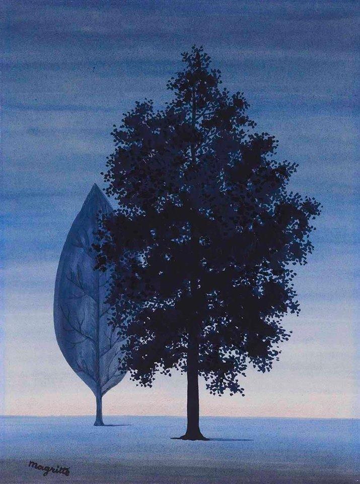 "René Magritte  ""Clairvoyance II"" (1962). https://t.co/FYAfvEk0bj"