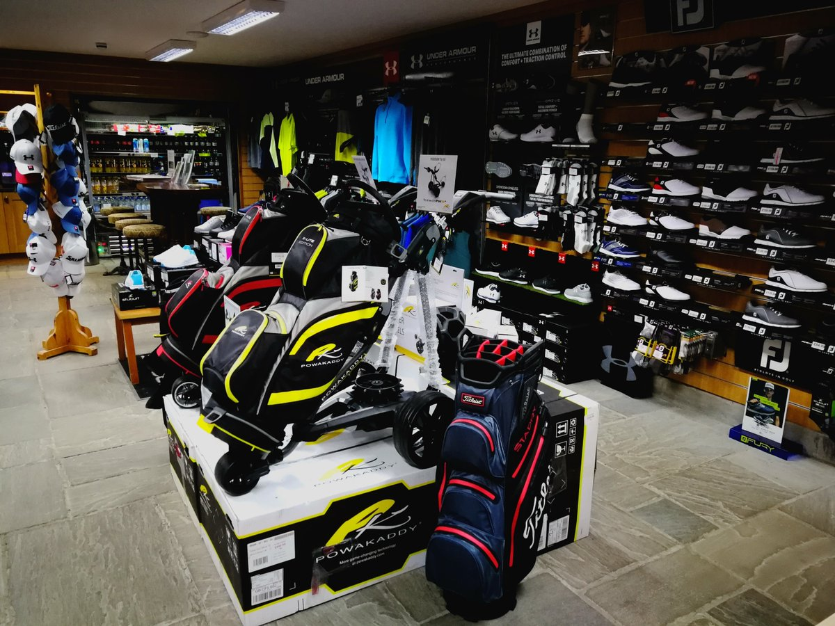 test Twitter Media - @CottrellParkLtd has LOADS of end of season #offers!  FREE @PowaKaddy_Golf accessory (worth £29.99) when you buy any electric #trolley  FREE @UnderArmour #gift when you purchase a pair of UA shoes. From £89.99  Plus 25% OFF all our golf bags!!! Including @Titleist  & @benrossgolf https://t.co/8XHHO0czIj