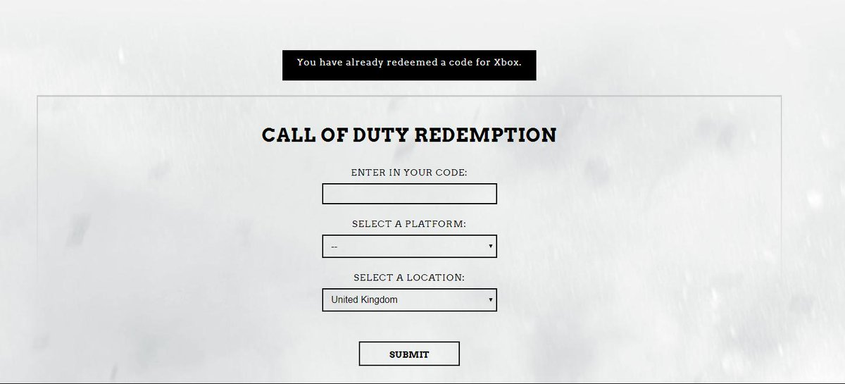 test Twitter Media - @charlieINTEL @CallofDuty @ATVIAssist @XboxSupport @xboxuk hey any idea when the Xbox pre order access codes are going to be released all i get is this on the call of duty website https://t.co/YPEr9zfzbr