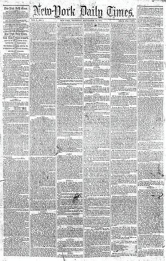 """El 18 de septiembre de 1851 se fundó el periódico estadounidense @nytimes que ha ganado un total de 125 premios Pulitzer. Ayer el diario anunció el cierre de su edición en español por no resultar """"financieramente exitosa"""" 📰 https://t.co/QjM5JTqDxR"""