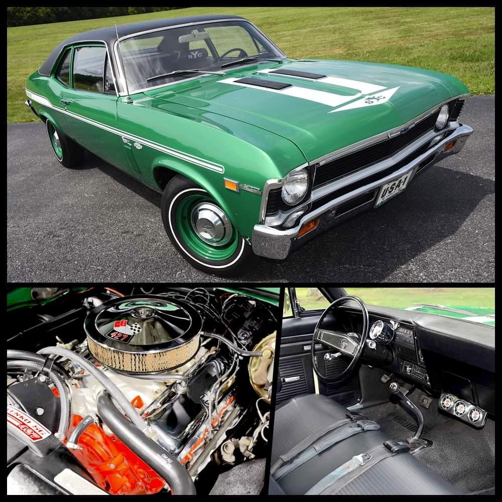 1969 Chevrolet Nova Yenko/ SC 427 https://t.co/9BrjrRS9zs
