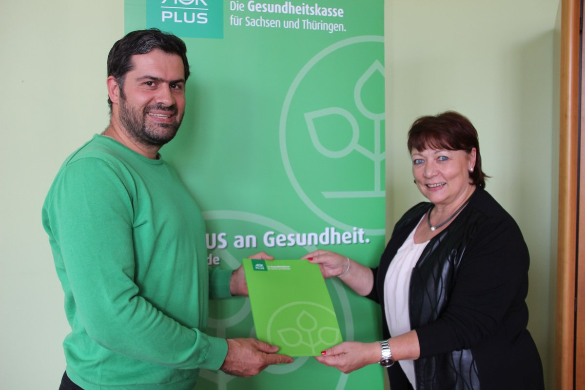 Die @aok_plus wird offizieller Gesundheitspartner der Handballer des SC DHfK Leipzig sowie Goldsponsor unserer Handball Akademie! 💚 ℹ Alle Infos: https://t.co/RDKBk7mbeO https://t.co/ahPRcsBmhZ