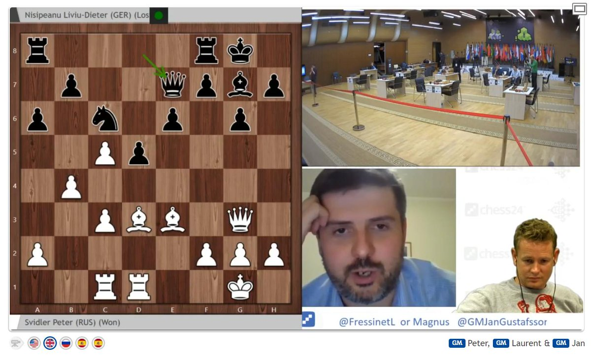 test Twitter Media - Magnus Carlsen has left the building (to play football), but Peter Svidler isn't a bad replacement for the blitz and perhaps Armageddon! https://t.co/bphE2dP8xO #c24live #FIDEWorldCup https://t.co/LFOrkw4WET