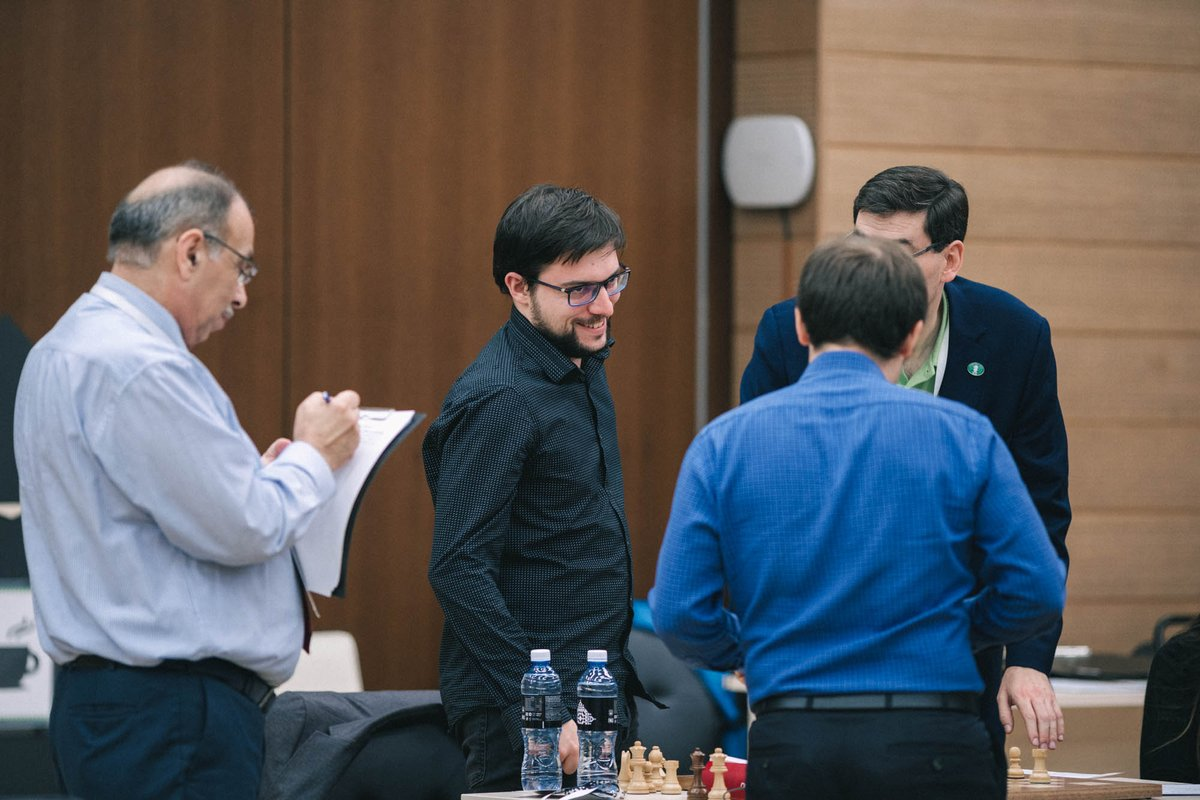 test Twitter Media - A dramatic day of tiebreaks came to an end at #FIDEWorldCup in Khanty-Mansiysk.   Ding 🇨🇳, Domínguez 🇺🇸, Nepomniachtchi 🇷🇺, Yu 🇨🇳, Xiong 🇺🇸, Vachier-Lagrave 🇫🇷, Svidler 🇷🇺, Le 🇻🇳 advanced to the 1/8 final.   Official website: https://t.co/BaCwiBGNR5  #chess #tiebreaks #playoff https://t.co/Fdz5421Qca