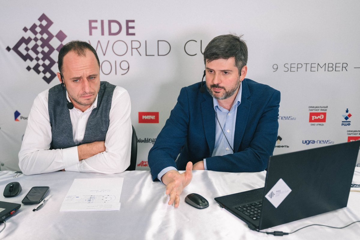 "test Twitter Media - Peter Svidler won #FIDEWorldCup in 2011 and was very close to the second title in 2015.  ""I can't say that this World Cup goes that smooth for me, but I am still participating in it, which can't be considered anything but positive.""  Interview (in Rus): https://t.co/eUhn0GYFuS https://t.co/svwbMVYymV"
