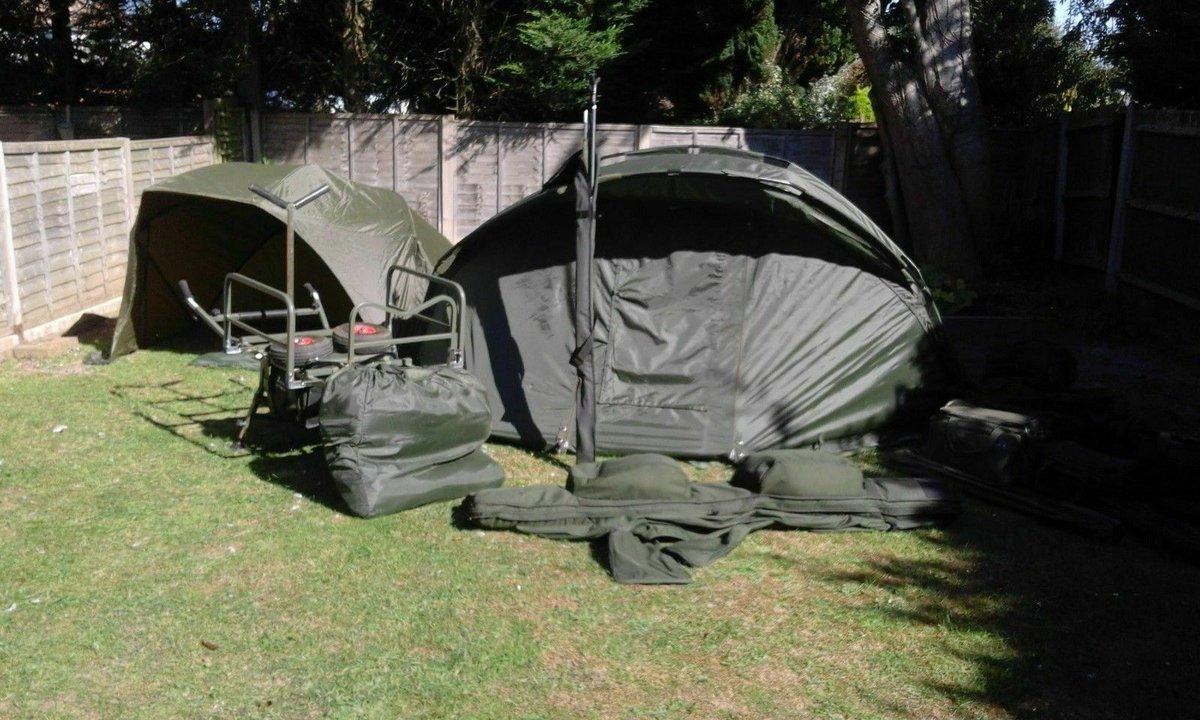 Ad - Complete carp fishing kit for sale On eBay here -->> https://t.co/Qlr1EQznmW  #carpfishin