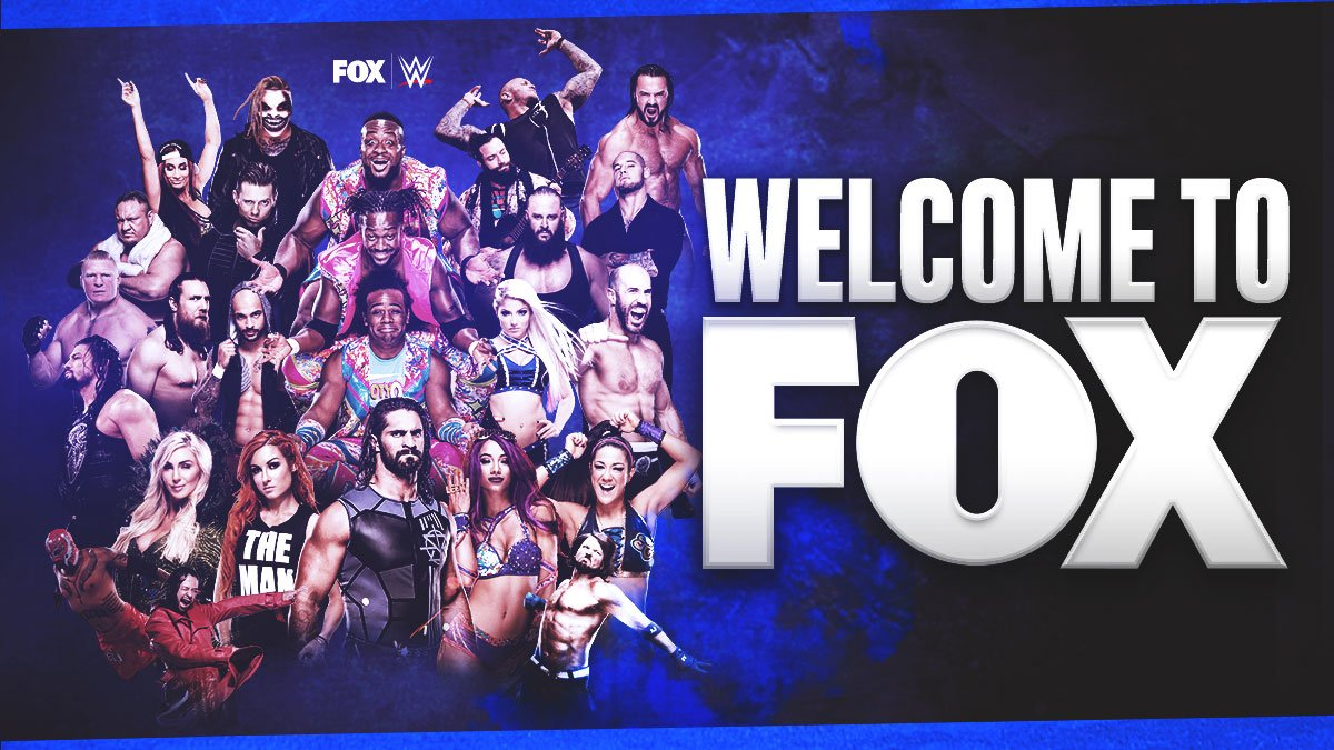 RT @WWEonFOX: It's a new era. Welcome to WWE on FOX. https://t.co/Vv3HgH8CzB
