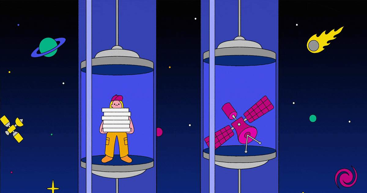 A space elevator to the moon could be doable — and surprisingly cheap