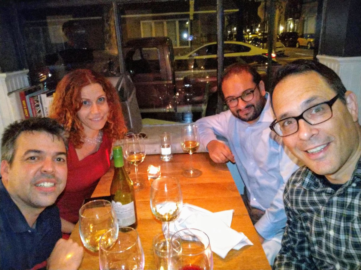 test Twitter Media - Congrats @y_bromberg for elected VP of @iscb 🎉🎊 - Perfect timing as we got to celebrate it over dinner as our guest Speaker @UPennIBI (together with @camara_pg and @mathiesoniain)  - Thank you for coming! https://t.co/3XSkhSrJj2