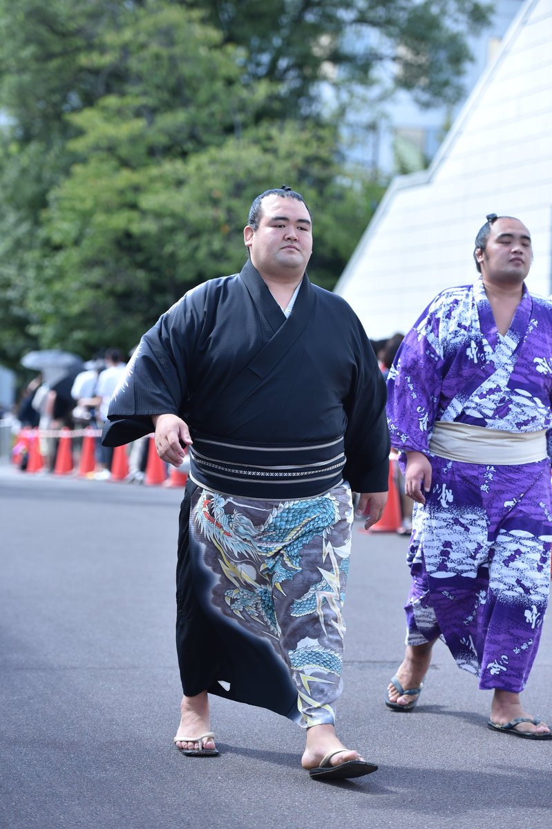 test ツイッターメディア - <場所入り> 今場所撮影した、場所入りの様子です。 場所入り、琴奨菊。 #sumo #相撲 https://t.co/WtBlSWg3mM