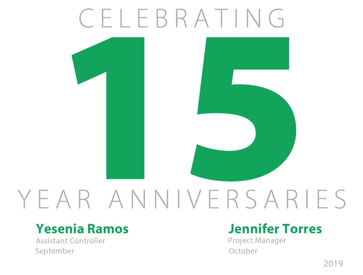 test Twitter Media - Congratulations to Yesenia and Jennifer on their 15 year anniversaries! Thank you for your dedication to Ideal. https://t.co/0d1q93vnKL