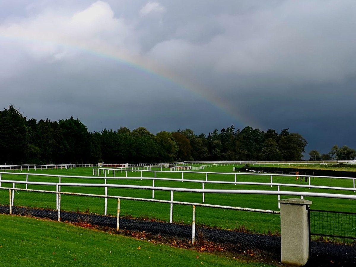 test Twitter Media - If you want to see a rainbow, you have to put up with the rain! Ready for racing here @ClonmelR @HRIRacing @RacingTV #ComeRacing #Ireland https://t.co/EFq9wfbIu8
