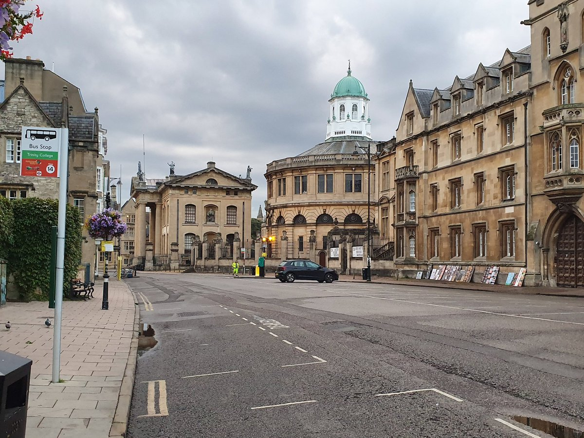 RT @cllrbartington: It's here at last!!#WorldCarFreeDay2019. We are set in #BroadStreet which is now almost #CarFree!!! #HealthyStreets #ActiveTravel @cycloxoxford @AnnelieseDodds @OxfordCity @OxfordshireCC @CoHSATOxon @CyclingBusOX3 @bigdamo @Urban_Turbo @carfreedayLDN
