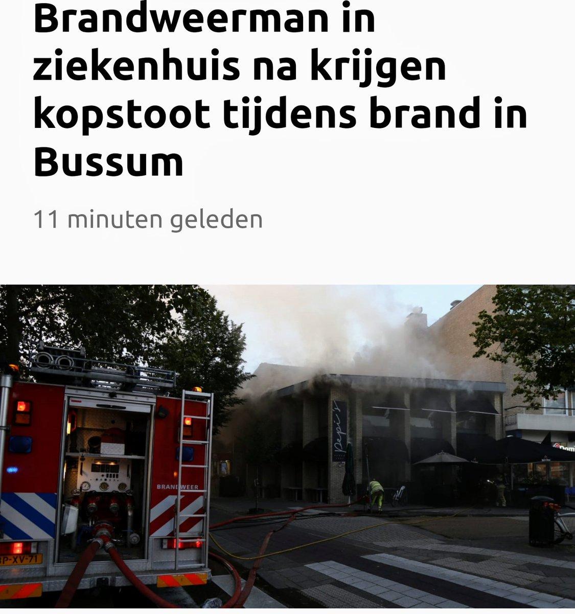 Melding ambulance Hilversum