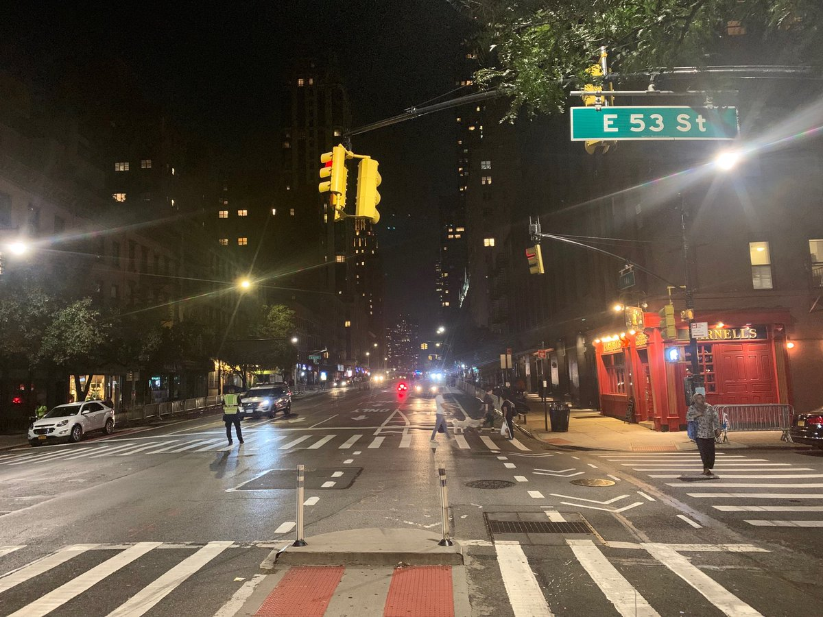 test Twitter Media - 1st Ave. closed all the way to 53rd St. in anticipation of ⁦@POTUS⁩ arrivai in NYC for #UNGA https://t.co/EPh2R38tL5