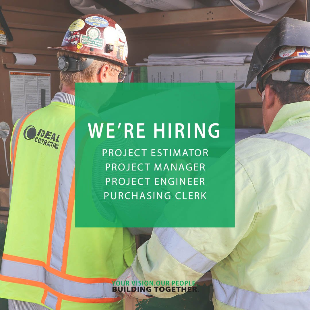 test Twitter Media - We want you to join our team! We are currently seeking Project Estimators, Project Managers, Project Engineers, and a Purchasing Clerk. Click the link to learn more about our career opportunities: https://t.co/mnTUtKeMFy https://t.co/7zntWeGzuR