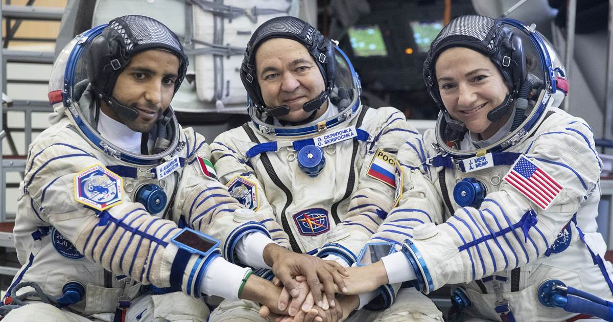 WATCH LIVE: First astronaut from UAE is set to fly to the International Space Station