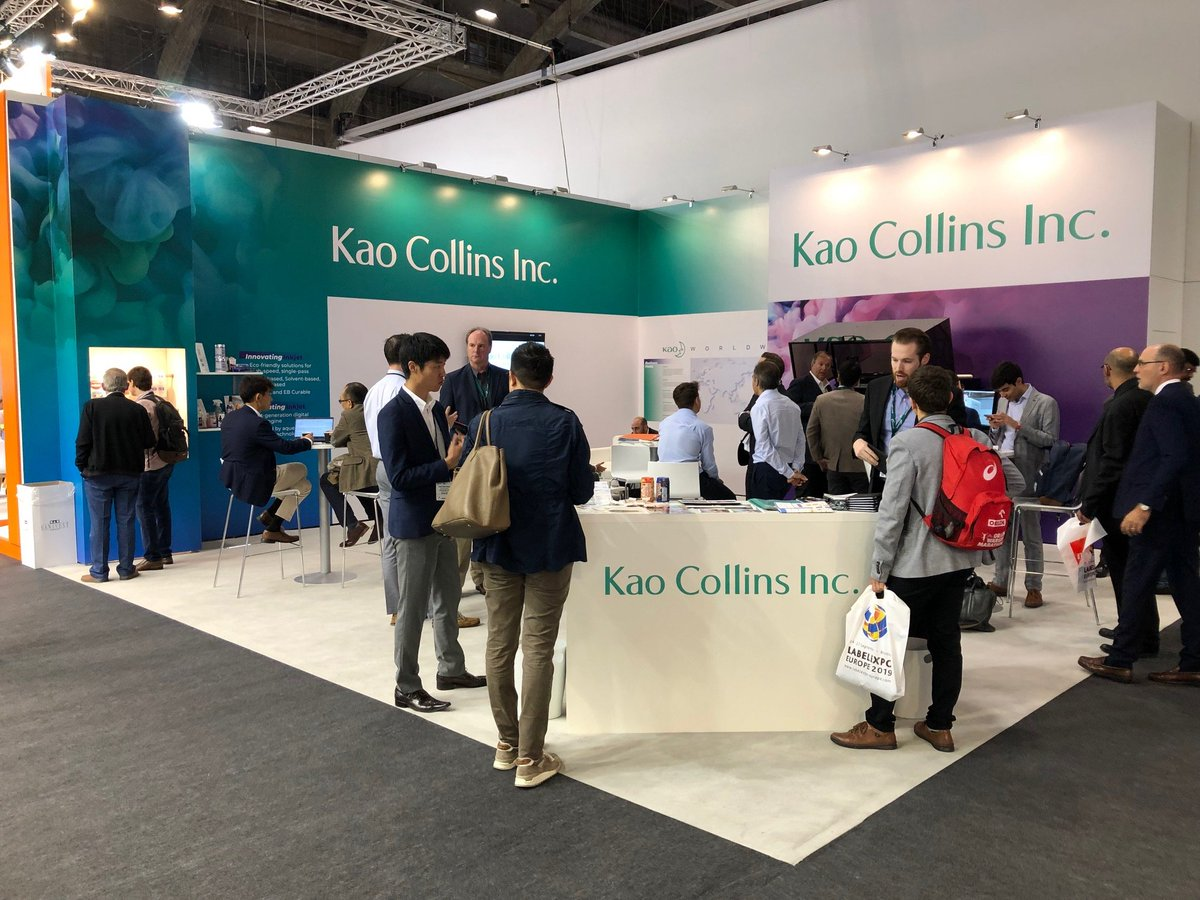 Label Expo Day 2 was even better than day 1! Visit us in Hall 5, booth E15 to talk about the latest in inkjet innovation. #labelexpo #innovations #inkjet #kaocollins #kao https://t.co/0RdmKrY8GS