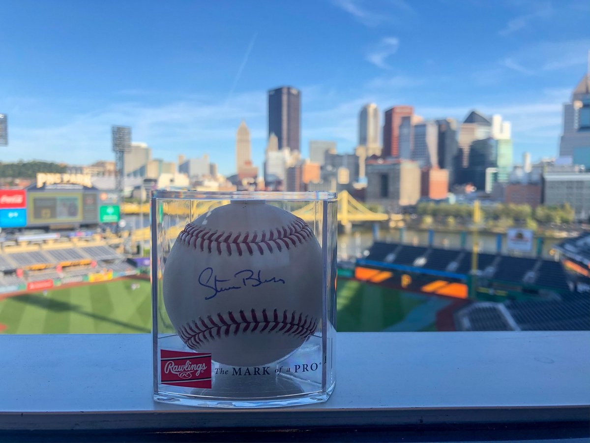 RETWEET THIS now for a chance to win a #Blass60 baseball signed by Steve!