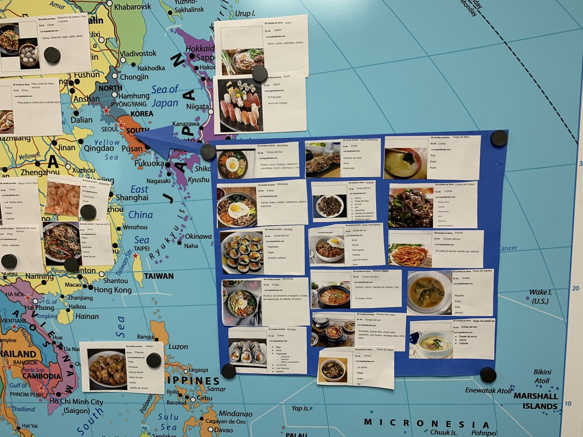 test Twitter Media - Impressive and tasty display of foods around the world from our Spanish department!  #d30learns https://t.co/5VAQcd05Jn