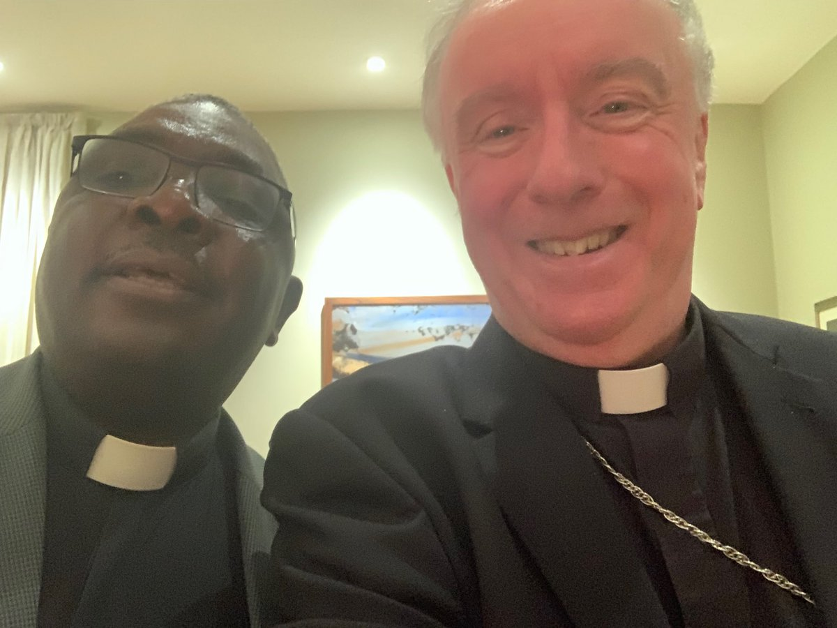test Twitter Media - Very pleased this afternoon to have a visit once again from Fr Vitalis Kondo. He's working in Lagos and is on good form. Please pray for him and for his Congregation, the Missionaries of St Paul (MSP). https://t.co/P2unNES1kd
