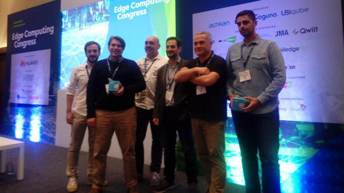 test Twitter Media - Un premio internacional consolida o liderado do Grupo GTI no ámbito dos sistemas 5G. O traballo premiado foi un demostrador para a Industria 4.0 que desenvolveron coa colaboración de @optaresolutions   https://t.co/gWoQysU5ai https://t.co/RoxBvHf6l0